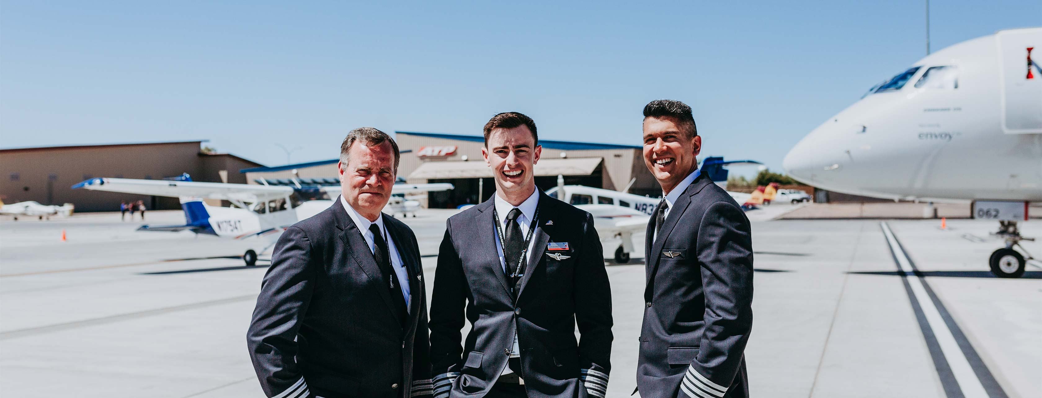 Airline Pilots at ATP Flight School