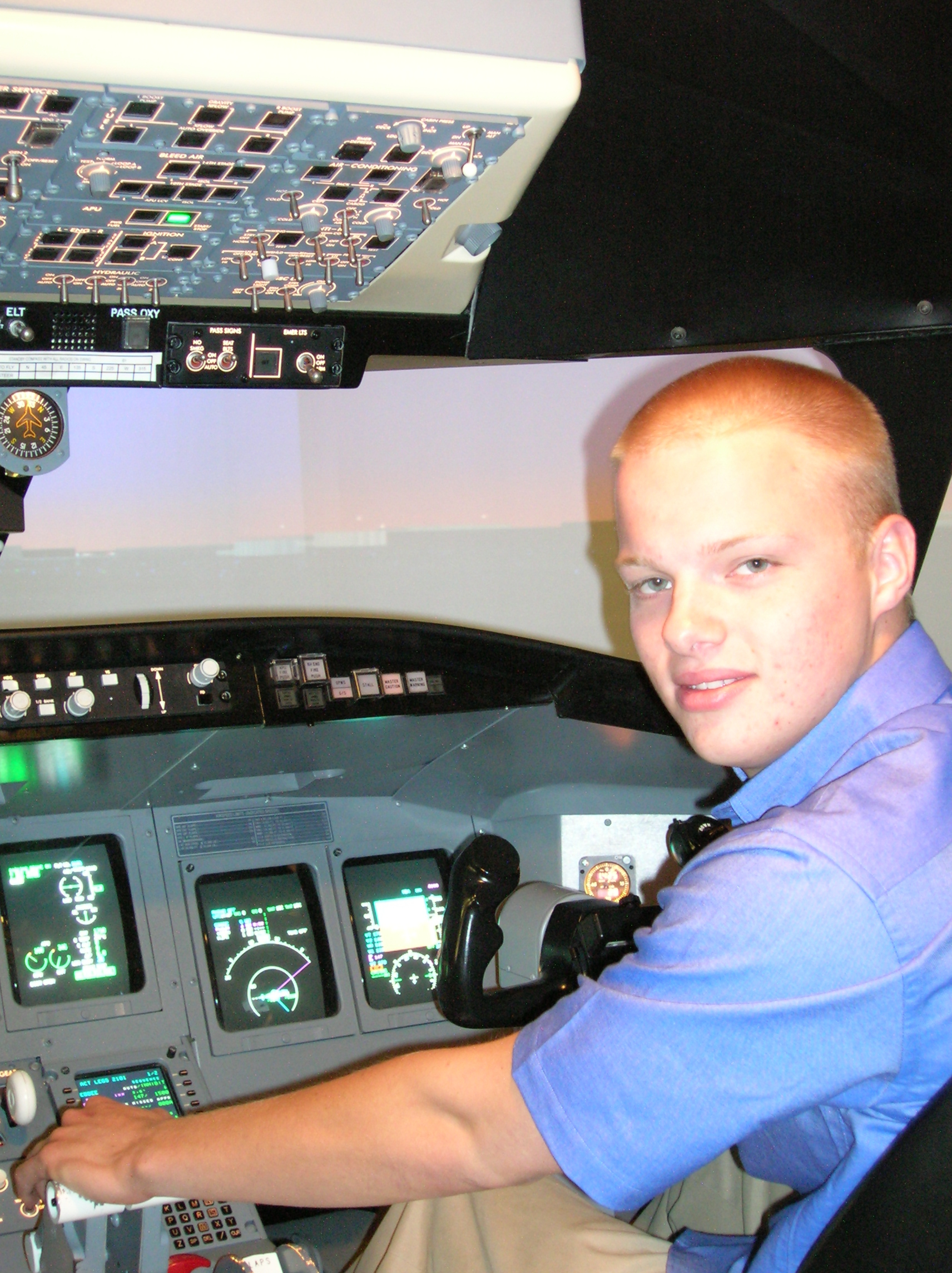 Airline Pilots Hired by PSA Airlines in 2008 / ATP Flight School